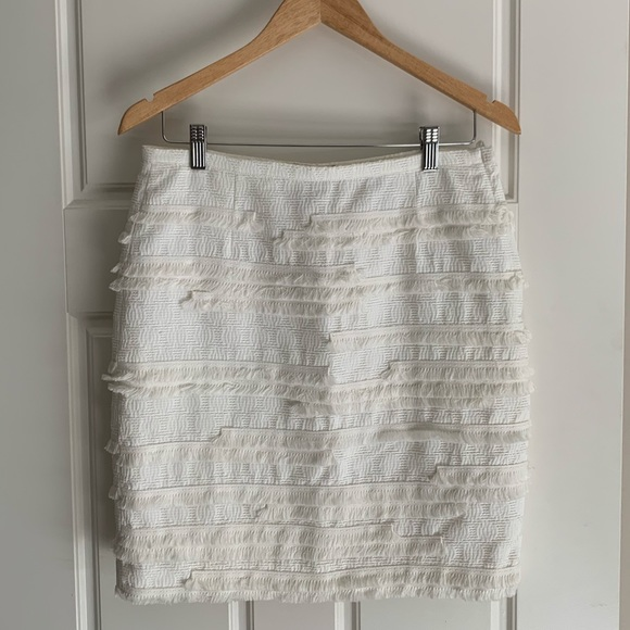 Embroidered H&M skirt